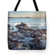 Sunrise Rocks Tote Bag