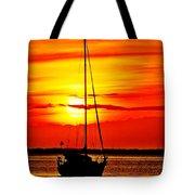 Sunrise Sailing Tote Bag
