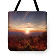 Sunrise-talimena Scenic Drive Arkansas Tote Bag by Douglas Barnard