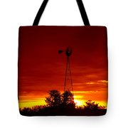 Sunrise Windmill 1 C Tote Bag
