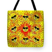 Suns Party Tote Bag