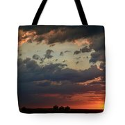 Sunset After The Thunderstorm Tote Bag