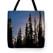 Sunset And Stars Tote Bag