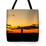 Sunset Arches Tote Bag