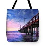 Sunset At Avila Beach Tote Bag