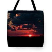 Sunset At Chestnut Ridge 27718 Tote Bag