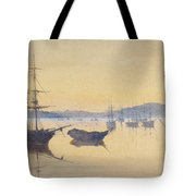 Sunset At Constantinople Tote Bag by M Baillie Hamilton