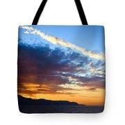 Sunset At Costa Del Sol Tote Bag