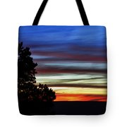 Sunset At Desert View Along The Grand Canyon Tote Bag