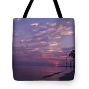 Sunset At Fountianbleu State Park Tote Bag