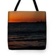 Sunset At Freemantle Tote Bag