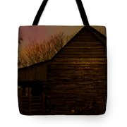 Sunset At The Barn Tote Bag