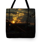 Sunset At The Georgia State Fair Tote Bag