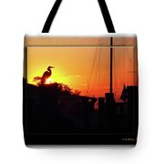 Sunset At The Granary Tote Bag