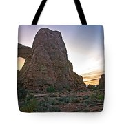 Sunset At Turret Arch Tote Bag