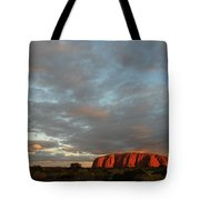 Sunset At Uluru Tote Bag