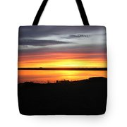 Sunset Bar Harbor Maine Tote Bag