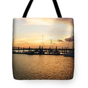 Sunset Bay Tote Bag