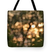 Sunset Bokeh  Tote Bag