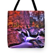 Sunset Canyon Tote Bag