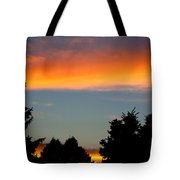 Sunset Charlestown In July Tote Bag