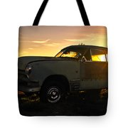 Sunset Coupe Tote Bag