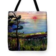 Sunset Cruisin' Tote Bag