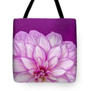 Sunset Dahlia 3 Tote Bag