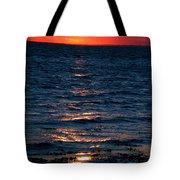 Sunset Denmark Samsoe Island Tote Bag