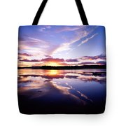 Sunset, Dinish Island Kenmare Bay Tote Bag