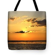 Sunset Flight Tote Bag