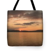 Sunset From The Train Tote Bag