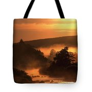 Sunset, Glendalough Glendalough, Co Tote Bag