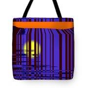 Sunset Grid Tote Bag