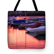 Sunset Harbor Tote Bag