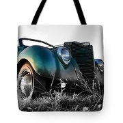 Sunset Hot Rod Tote Bag