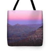 Sunset Hues At Grand Canyon Tote Bag