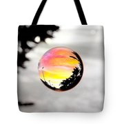 Sunset In A Bubble Tote Bag