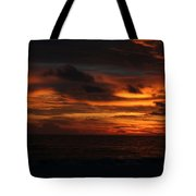 Sunset In Naples Tote Bag