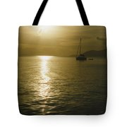 Sunset In The Bvi Tote Bag