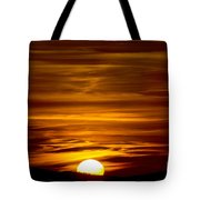 Sunset In Tuscany Tote Bag