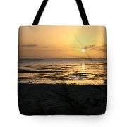 Sunset Monkey Mia Tote Bag