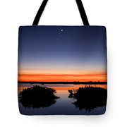 Sunset Moon Venus Tote Bag