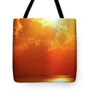 Sunset Near Venice La Tote Bag