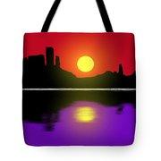 Sunset No. 3 Tote Bag