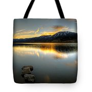 Sunset On Little Washoe Tote Bag