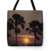 Sunset On Shire River Tote Bag