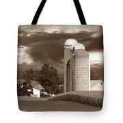 Sunset On The Farm S Tote Bag by David Dehner