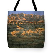 Sunset On The Geological Formations Tote Bag