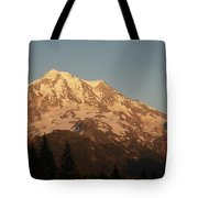 Sunset On The Mountain Tote Bag